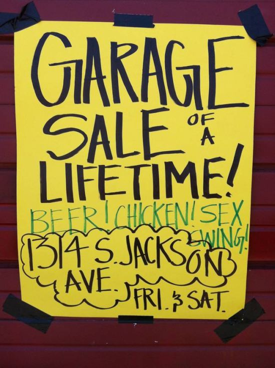 These Garage Sale Signs Are Just Perfect (27 pics)