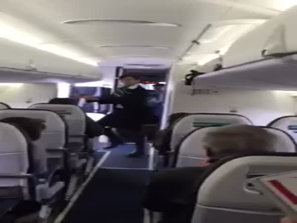 Dancing Flight Attendant
