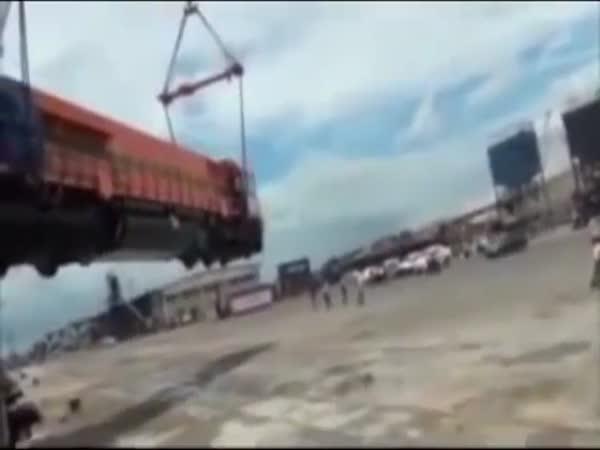 Unloading Crash