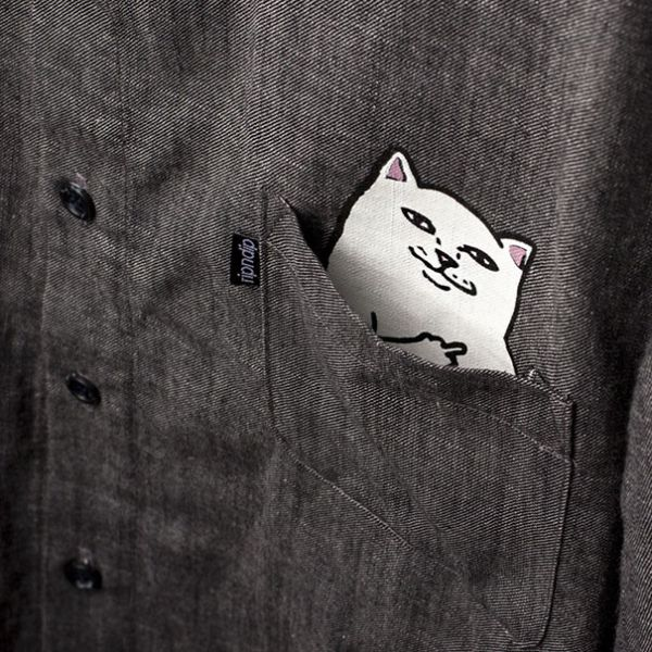 This Shirt Has A Cat In The Pocket And A Special Surprise (3 pics)