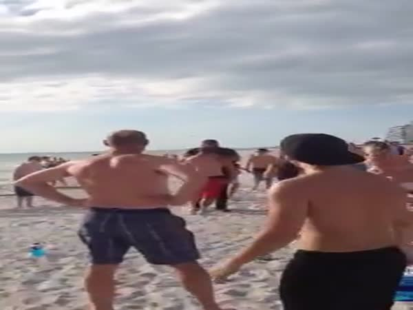 Arrest On The Florida Beach
