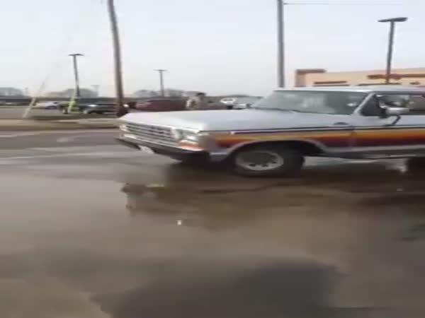 Guy Stops Runaway Truck
