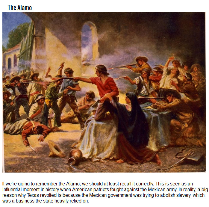 10 Things From History That Your Teachers Got Really Wrong (10 pics)