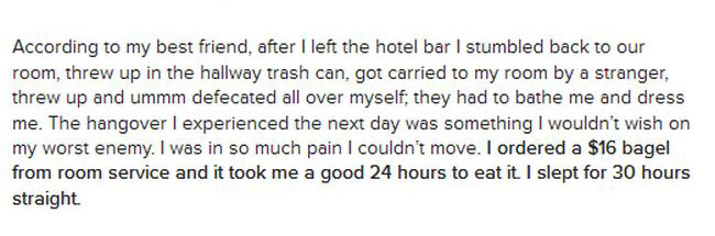 These Hangover Horror Stories Will Make You Want To Stay Away From Alcohol (22 pics)
