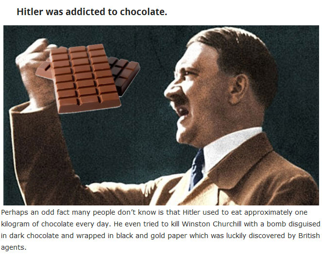 But True Facts About Adolf Hitler (13 pics)