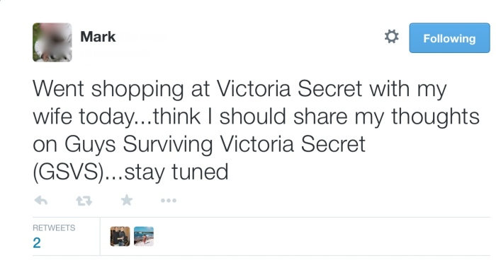 Husband Live Tweets Trip To Victoria's Secret With His Wife (11 pics)