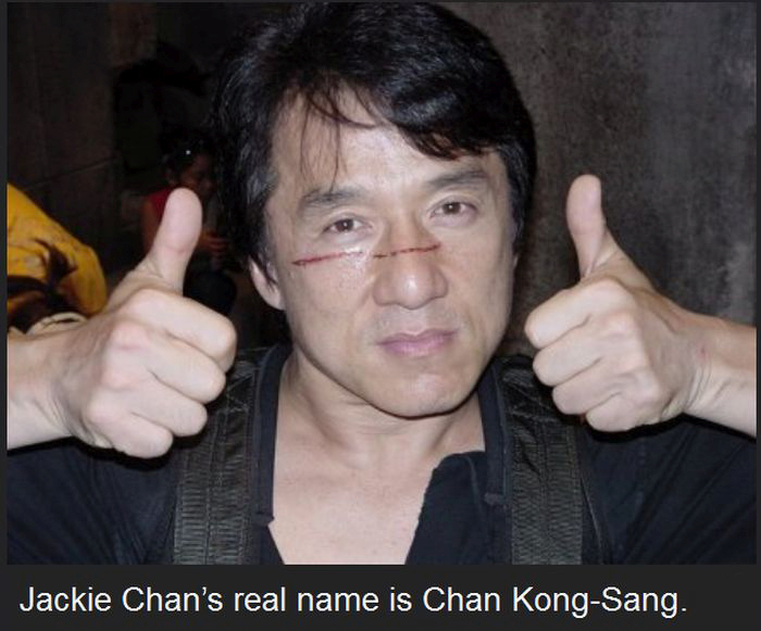 Fun Facts About The Legendary Jackie Chan (23 pics)