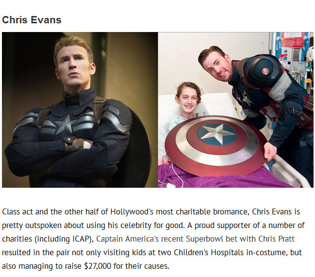 These Actors Aren't Just Heroes In Movies They're Heroes In Real Life Too (16 pics)