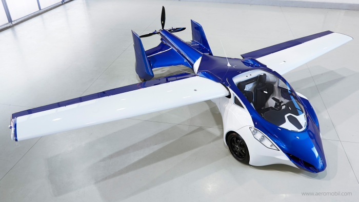 It's A Plane, It's A Car, It's The AeroMobil (9 pics)