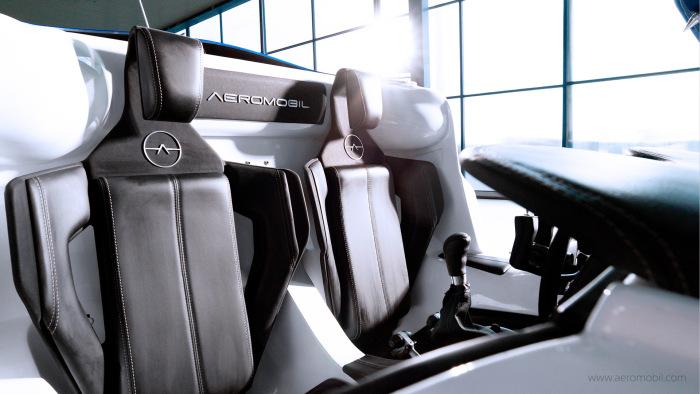 It's A Plane, It's A Car, It's The AeroMobil (9 pics)
