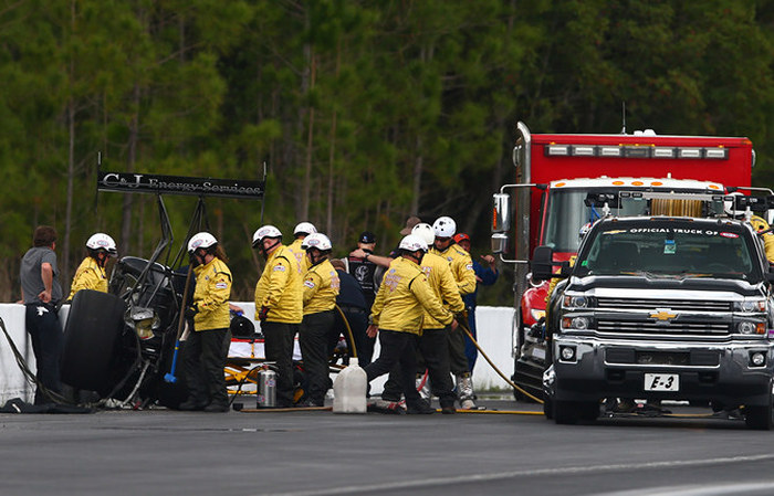 Larry Dixon Walks Away From A Brutal Crash In Gainesville (5 pics + video)
