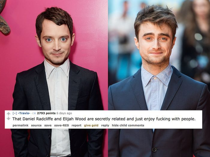 Wild Theories About Celebrities That Make Perfect Sense (17 pics)