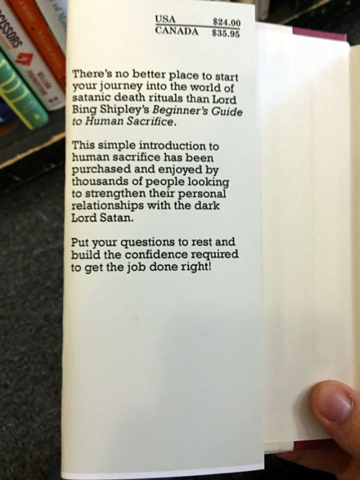 This Guy Is Leaving Hilarious Fake Self Help Books At A Local Bookstore (15 pics)