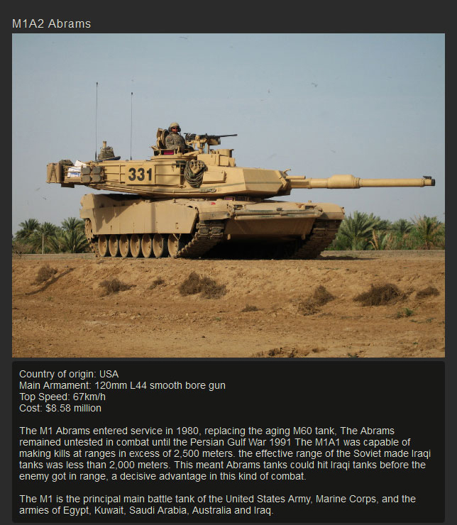 The Modern Tanks That Occupy The Battlefield (10 pics)