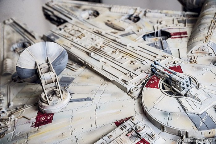 This Model Of The Millennium Falcon Took 4 Years To Make (45 pics)