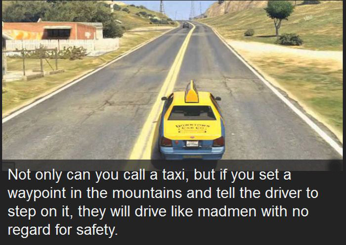 Awesome And Funny Things People Found In Grand Theft Auto V (10 pics)
