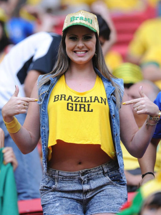 All The Best Brazilian Babes From The World Cup  55 Pics