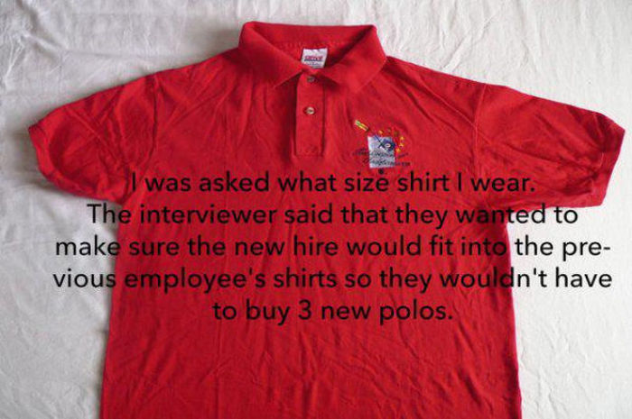 The Worst Questions Ever Asked During A Job Interview (20 pics)