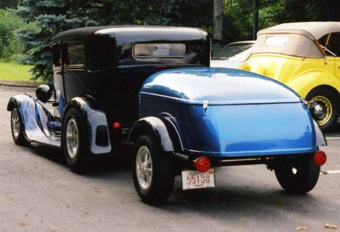 Cars With Cool Custom Trailers (34 pics)