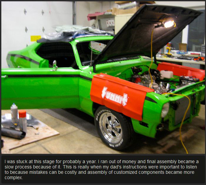 Plymouth Duster Goes From Hunk Of Junk To Award Winning Car (25 pics)