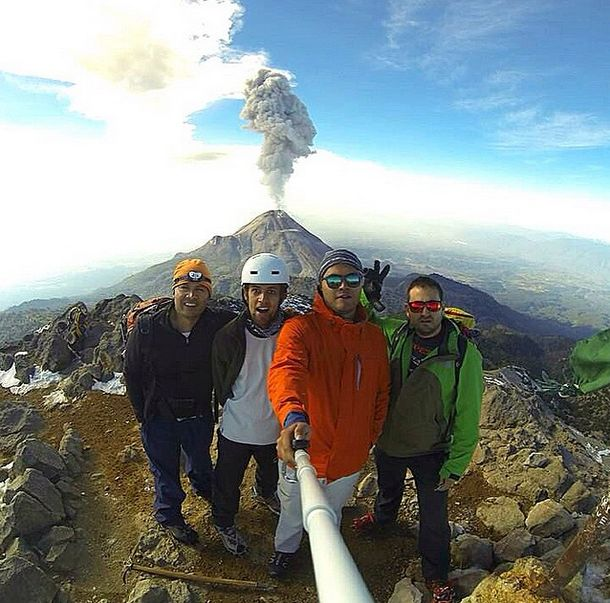 Selfies Taken In Extreme Environments (35 pics)