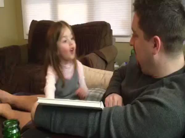 Little Girl Reaction