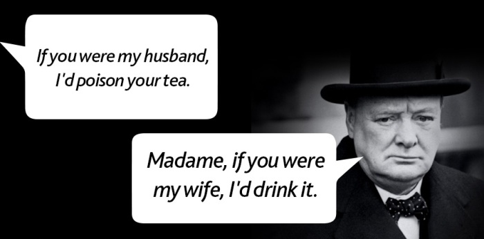 20 Great Zingers And Comebacks From The Mouths Of Historical Figures (20 pics)