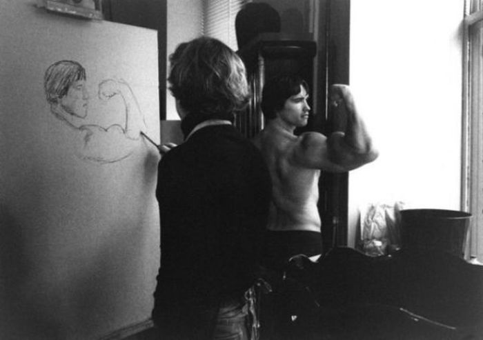 Rare Vintage Photos Of Arnold Schwarzenegger (39 pics)