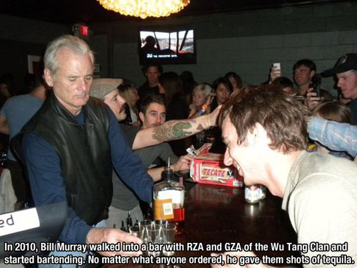 Proof That Bill Murray Is The Most Interesting Man In The World (31 pics)