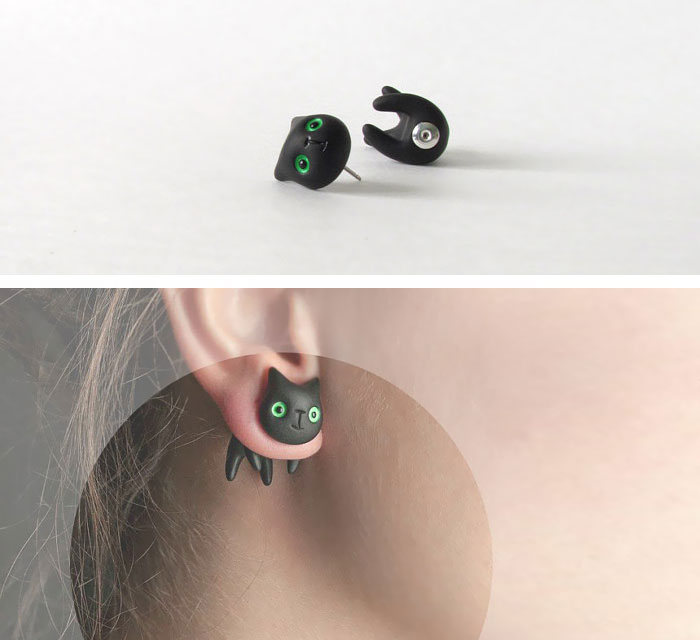 Awesome Earrings For Geeky Girls (35 pics)