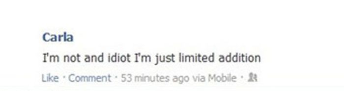 Some People Are Just Too Stupid To Be Using Facebook (29 pics)