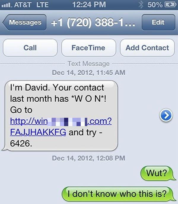 This Text Spammer Got What He Deserved (7 pics)