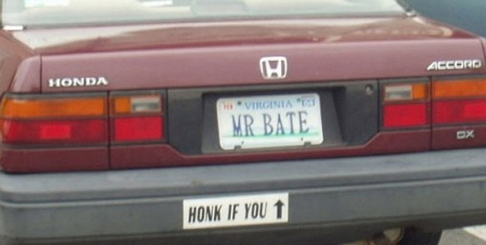 License Plates That Are A Little Too Honest (14 pics)