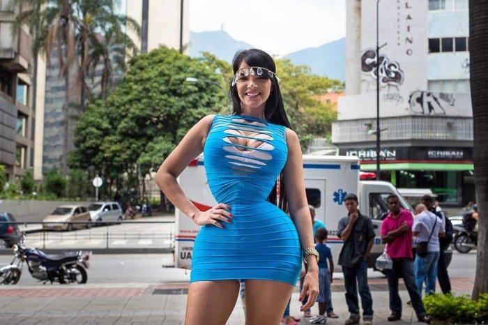 Busty Girl Tiny Waist. Photos of Aleira Avendaño (24 pics)