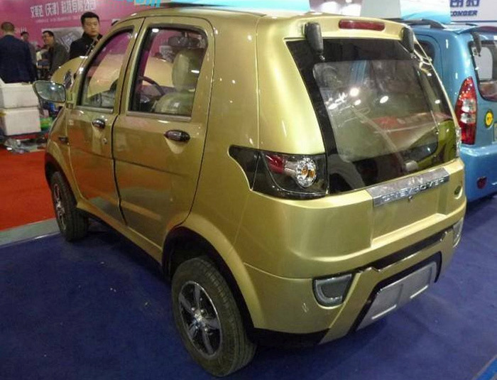 China Shows Off The Longer Yuelang X1 EV (6 pics)