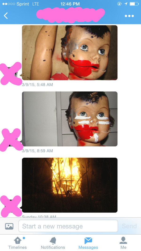 These Are The Freakiest Text Messages Ever (3 pics)