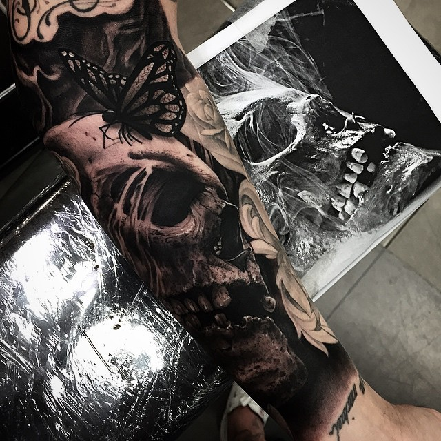 DrewAPicture Creates Insanely Detailed Tattoo Art (21 pics)