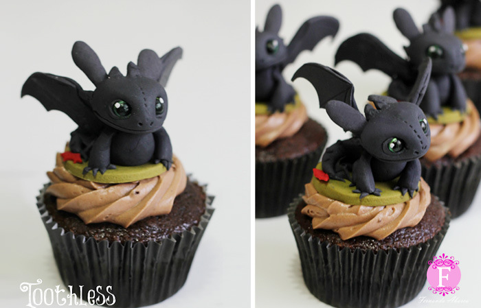 DreamWorks Animator Creates Movie Inspired Cupcakes (14 pics)