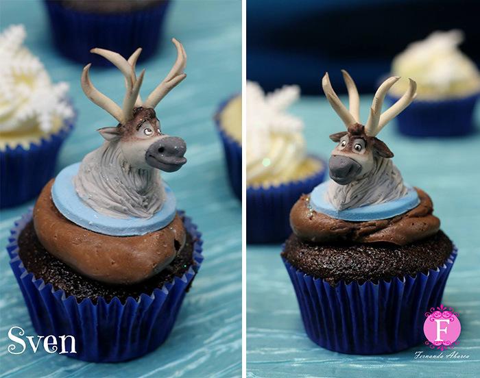 DreamWorks Animator Creates Movie Inspired Cupcakes (14 pics)