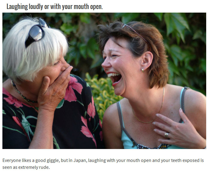 15 Things You Do That Are Considered Rude In Other Countries (15 pics)