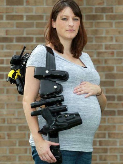 Extreme Pregnant Women (18 pics)