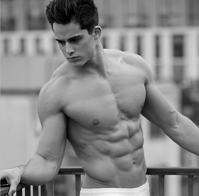 Male Model Who Works As A Math Lecturer (15 pics)
