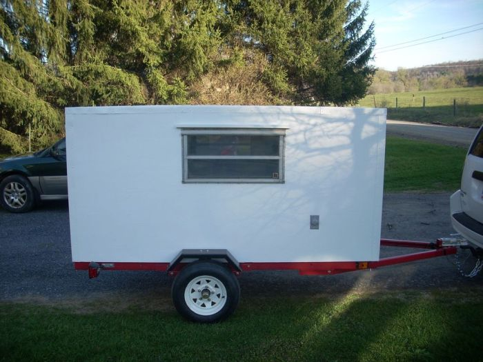 How To Make Your Own Micro Camper (20 pics)