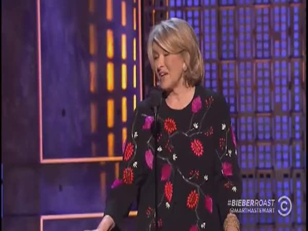 Martha Stewart Talks About Justin Bieber