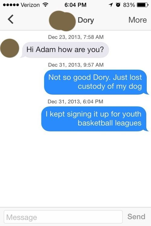 Sometimes Talking On Tinder Can Get Really Awkward (17 pics)