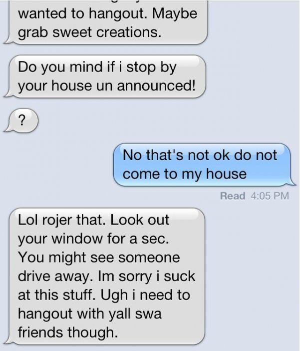 Guys Who Went From Normal To Creepy In Just A Few Texts (15 pics)