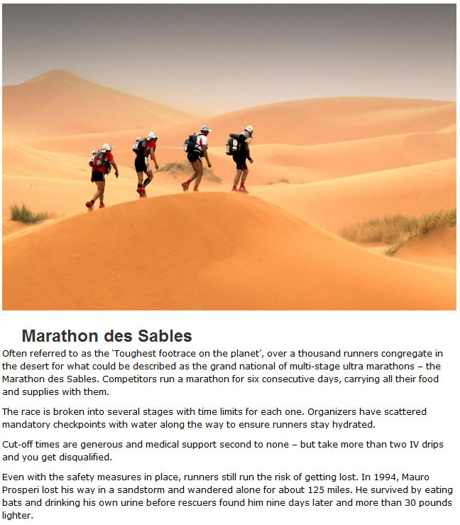 The Top 10 Toughest Endurance Races In The World (10 pics)