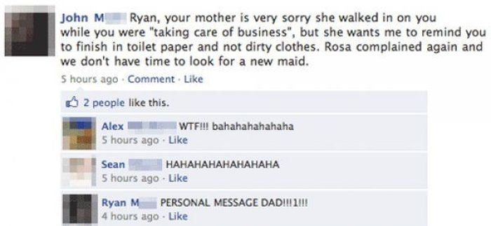 People Who Shared Way Too Much Information On Facebook (15 pics)