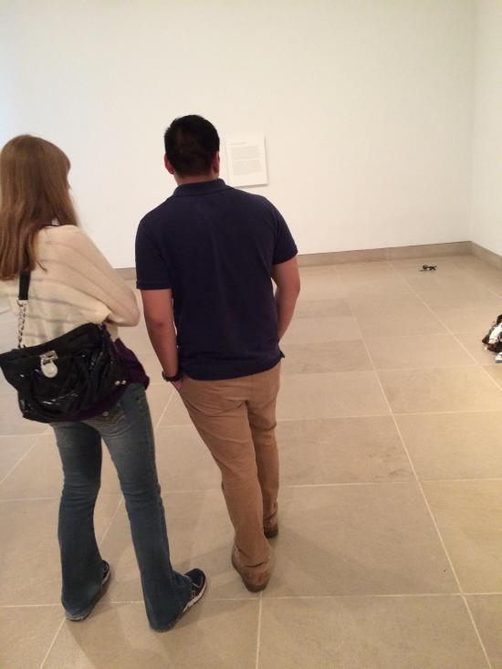 Crashing The Abstract Art Exhibit (5 pics)