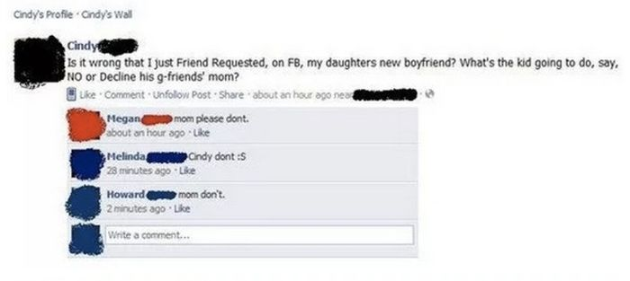 Moms That Should Be Banned From Facebook (14 pics)